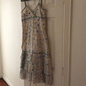 Tibi Mid-Calf Spaghetti Strap Dress Size 6